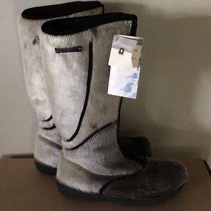 Boots seal fur Bilodeau